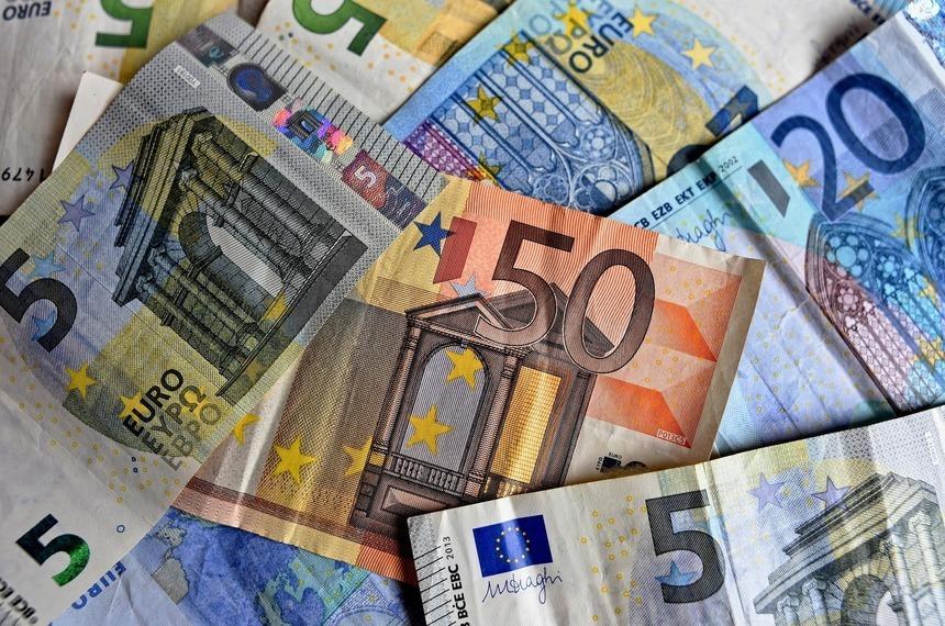 В Россию ввезли рекордный объем наличных евро за год
