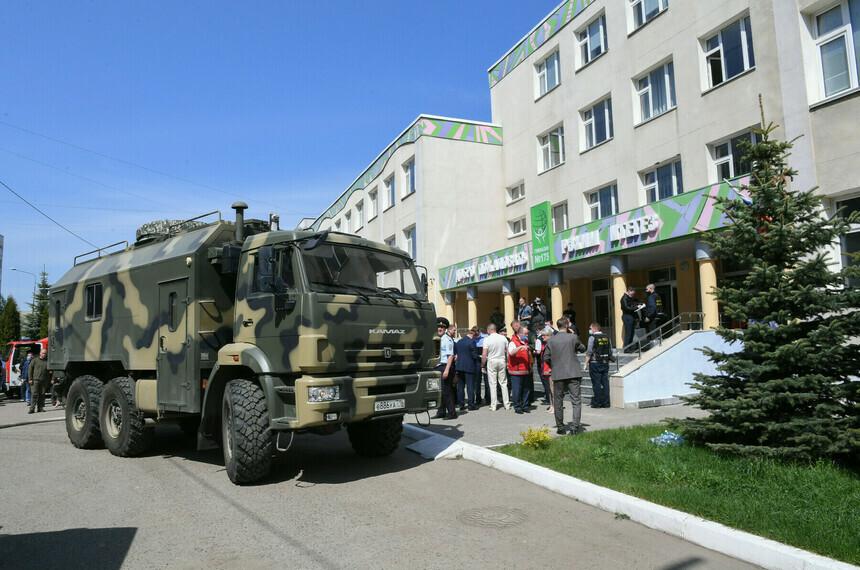 В Казани поощрят детей, помогавших в спасательной операции в школе