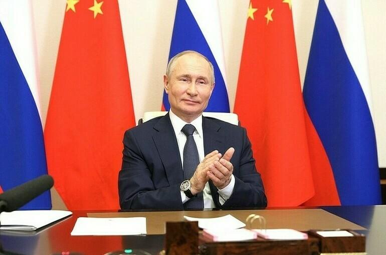 Путин и Си Цзиньпин открыли строительство энергоблоков на двух АЭС в Китае