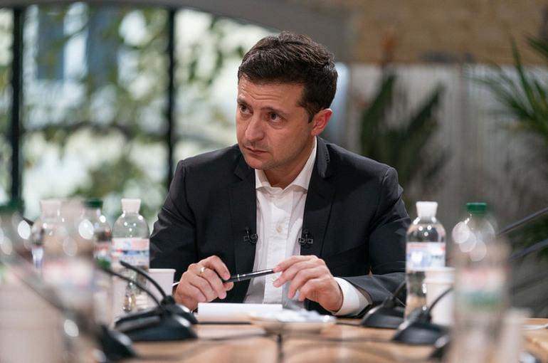 Зеленский не исключил проведения референдума по Донбассу