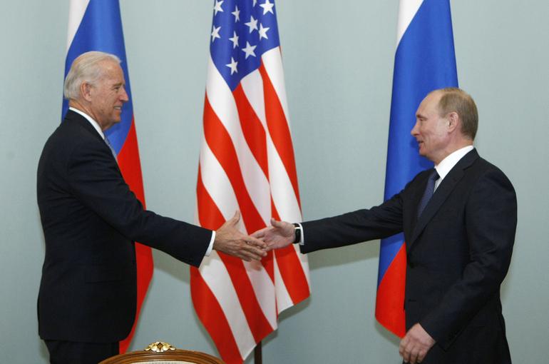 Встреча Путина и Байдена пройдёт в Женеве 16 июня