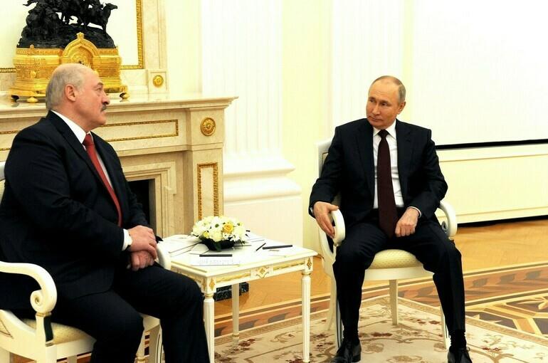 Встреча Путина и Лукашенко назначена на 28 мая