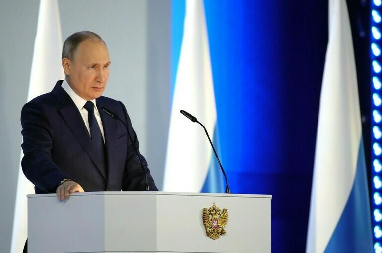 Путин назвал приоритетом для властей восстановление доходов граждан