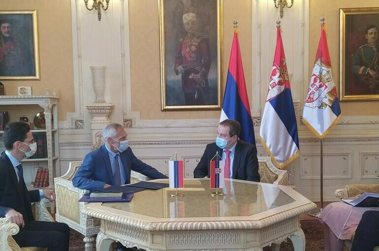 Спикер сербского парламента посетит Россию 31 мая