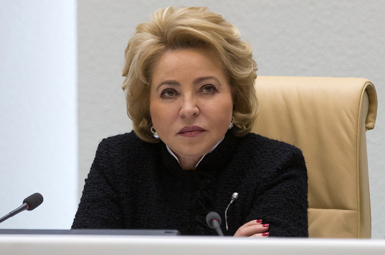 Матвиенко: Россия должна формировать экологическую мировую повестку