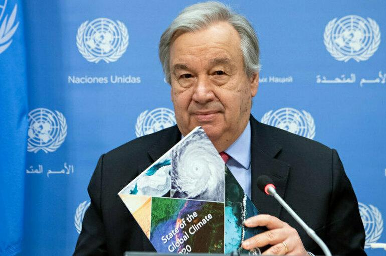 В середине века нужно добиться нулевого баланса выбросов, заявил генсек ООН