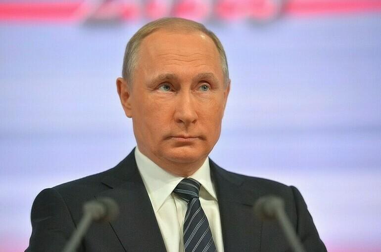 Путин назвал экологическую безопасность одним из главных приоритетов России