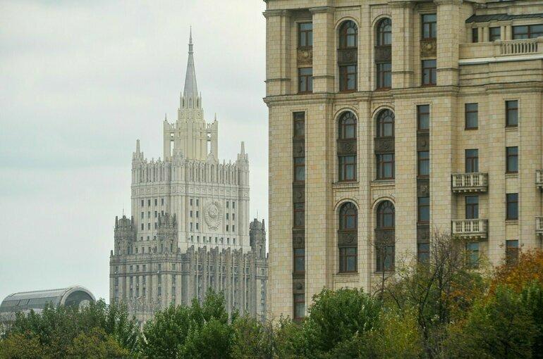 Россия потребовала от Украины прекратить акции у посольства в Киеве