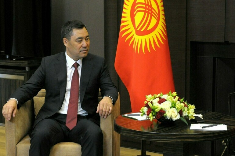 Жапаров назвал Россию и Киргизию вечными союзниками