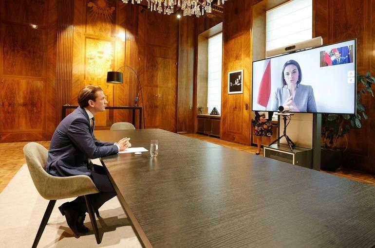 Канцлер Австрии заявил о готовности поддержать санкции против Белоруссии