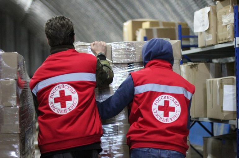 В России хотят принять закон о Красном Кресте