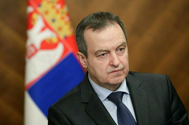 Дачич назвал Россию наиболее влиятельным защитником национальных интересов Сербии