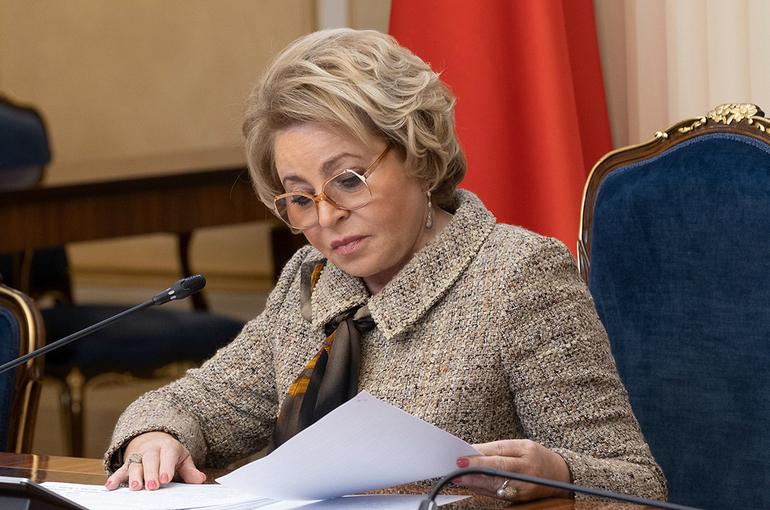 Матвиенко подержала идею вводить санкции за нарушение прав русскоязычных граждан