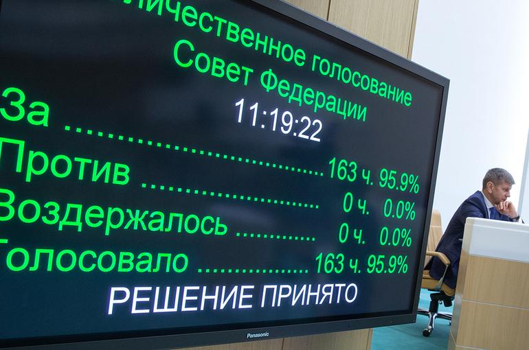 Совфед одобрил закон о штрафах за оборот немаркированной продукции
