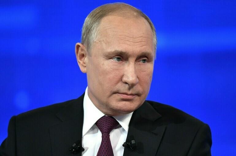 Путин: выплата в 10 тысяч коснётся детей, которые пойдут в школу с шести лет