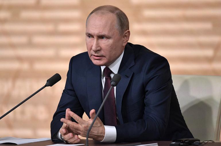 Россия продолжит переходить на «зелёные» технологии, заверил Путин