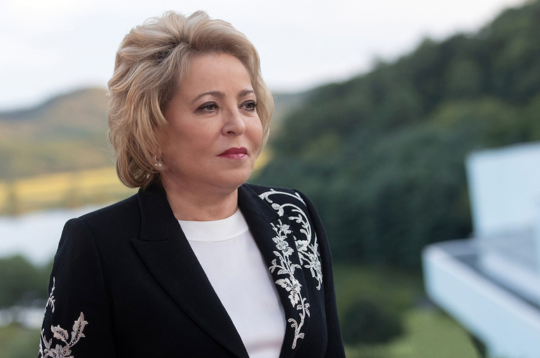 Матвиенко: президент на ПМЭФ дал хороший сигнал для зарубежного бизнеса