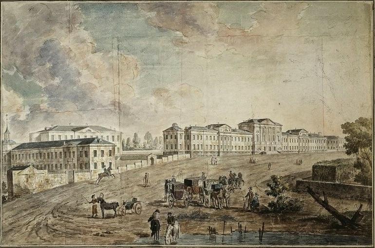 Первый военный госпиталь был основан Петром I