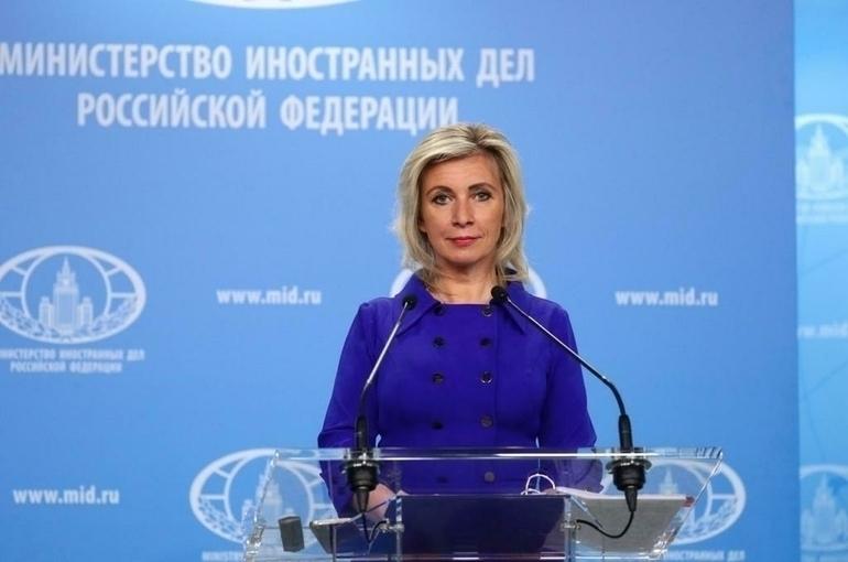 Захарова заявила об отсутствии в планах НАТО взаимодействия России и Белоруссии