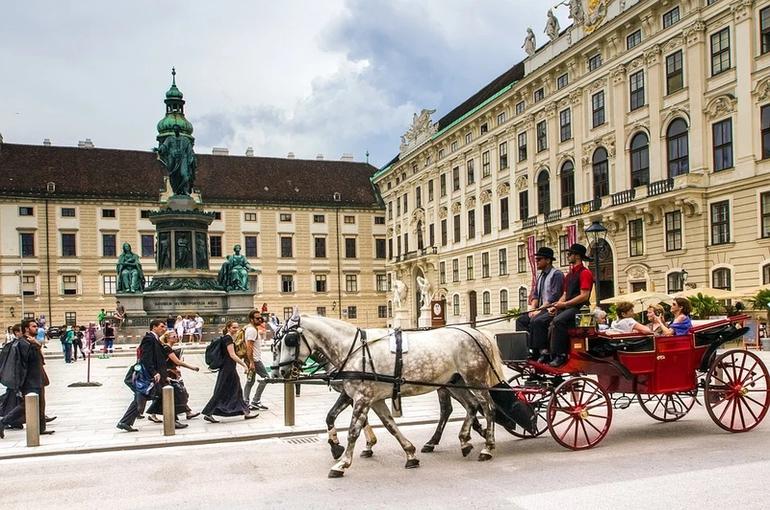 В Вене после беспорядков закрыли площадь в центре города