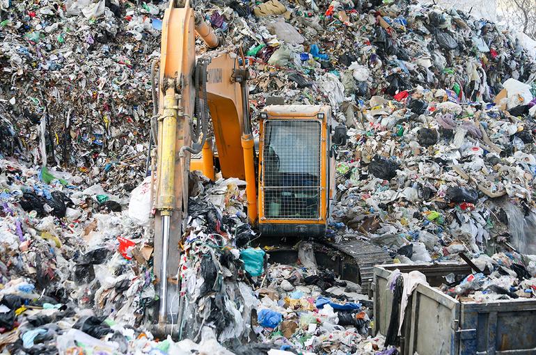 Деньги на переработку мусора предлагают собирать в специальный фонд
