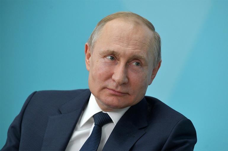 Путин дал старт запуску первой очереди Амурского газоперерабатывающего завода