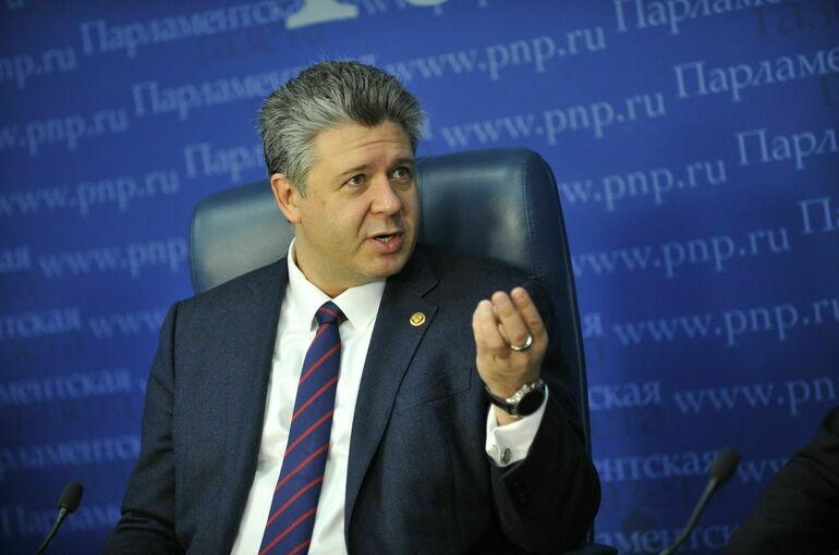 Григорьев назвал доклад Европарламента по России попыткой вмешательства в выборы