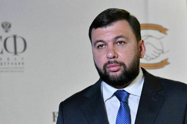 Пушилин рассказал об активизации украинских войск накануне российских выборов