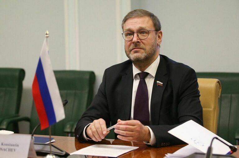 Косачев предложил заслушать доклад о работе международных наблюдателей в Совете Федерации