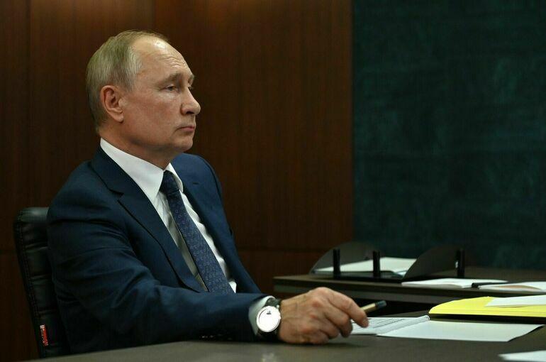 Путин проголосует на выборах онлайн