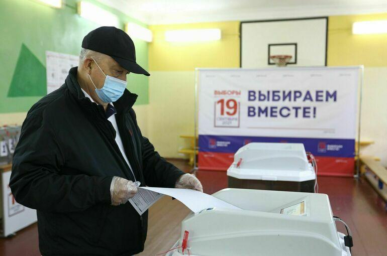 Выборы стартовали, онлайн-явка зашкаливает