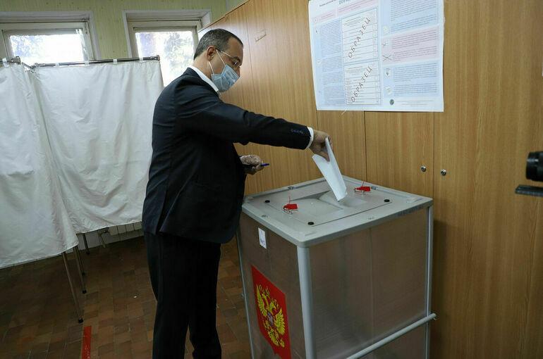 Спикер парламента Кубани проголосовал на выборах депутатов Госдумы