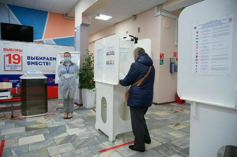 В Москве и Центральной России закрылись участки для голосования