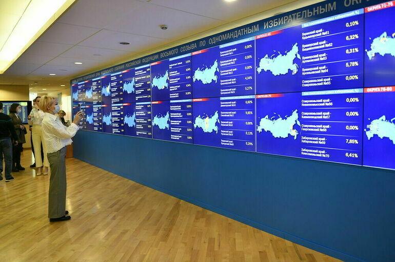 «Единая Россия» после обработки 30% протоколов лидирует в 189 одномандатных округах
