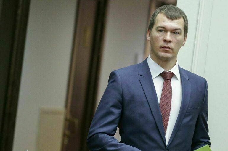 Дегтярев с более чем двукратным отрывом лидирует на выборах главы Хабаровского края