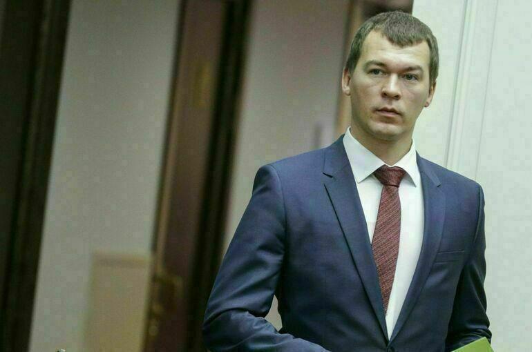 На выборах главы Хабаровского края побеждает Михаил Дегтярев