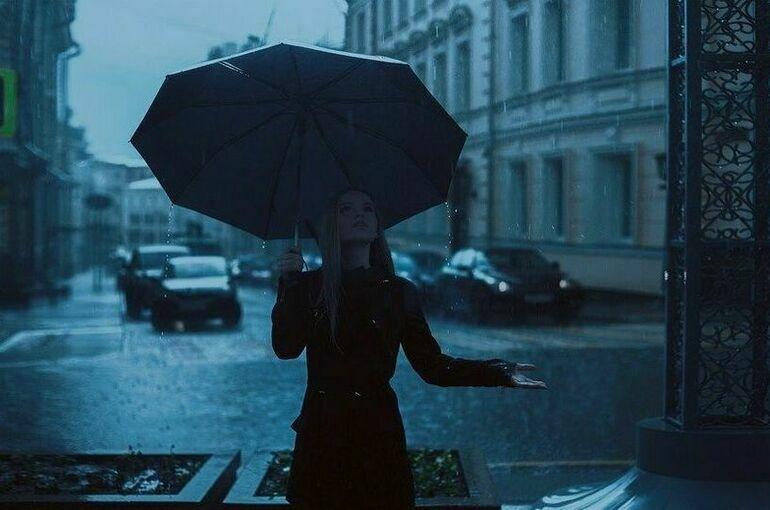 Метеоролог рассказал, сколько в Москве продлится дождливая погода