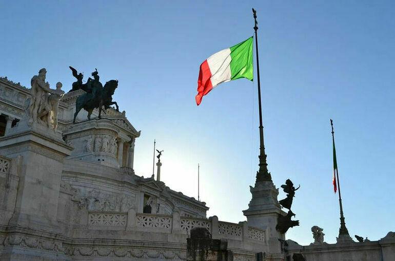 Правительство Италии получило вотум доверия в палате депутатов парламента страны