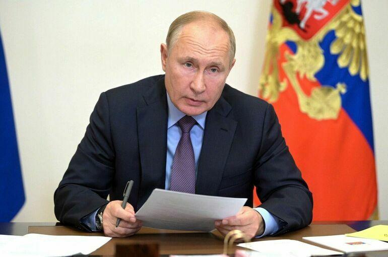 Путин встретится с лидерами списка «Единой России» в понедельник