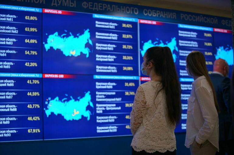 ЦИК: результаты онлайн-голосования на выборах отражены корректно