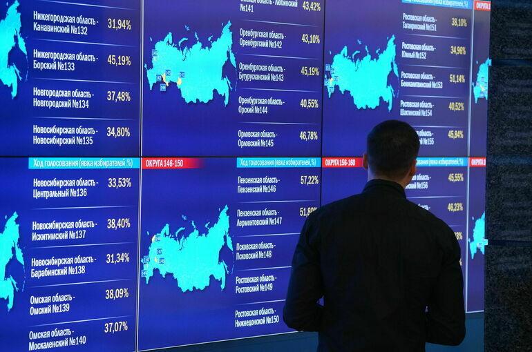 В регионах с ДЭГ треть избирателей проголосовала онлайн