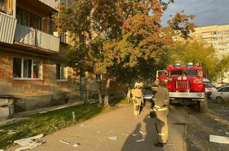 В пятиэтажке в Свердловской области произошел взрыв газа