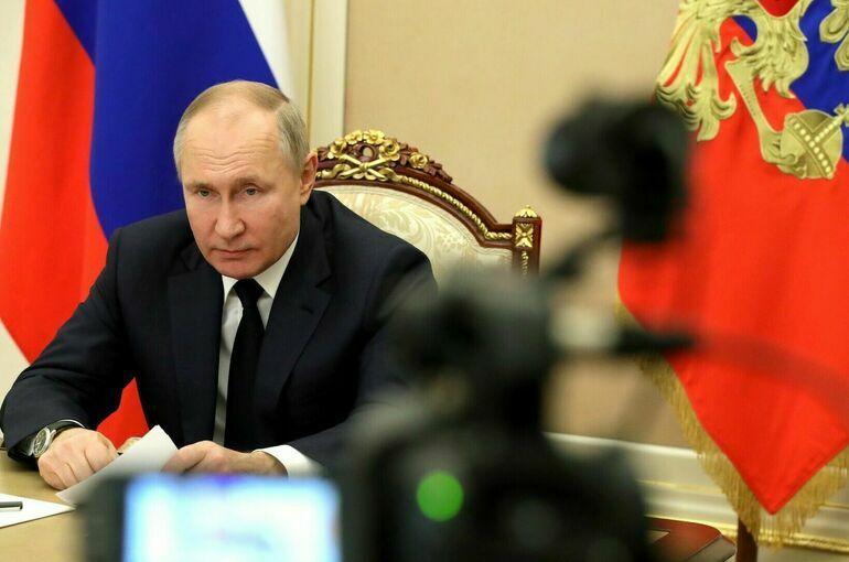 Путин: уровень бедности в России нужно свести до минимума
