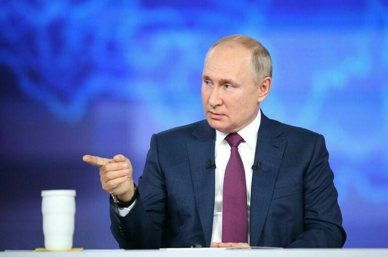 Путин заявил, что депутаты должны выполнить все данные в ходе предвыборной кампании обещания