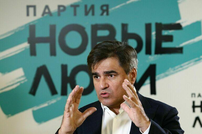 Нечаев: избиратели высоко оценили программу партии «Новые люди»