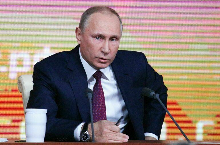Путин: обсуждение прогрессивной шкалы налогов не должно вести к советской «уравниловке»