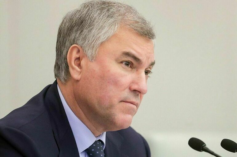 Володин рассказал о важности противостояния вмешательству извне