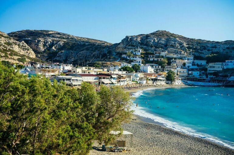 На острове Крит в Греции произошло сильное землетрясение