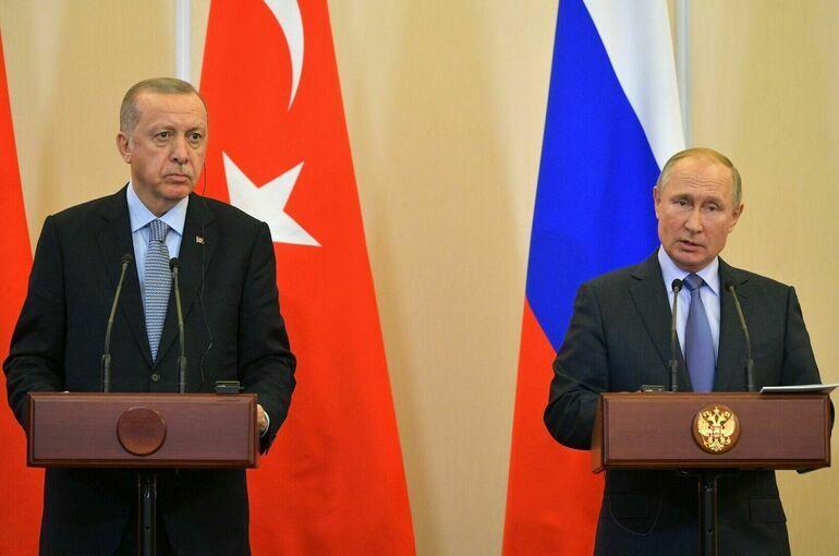 Путин и Эрдоган 29 сентября обсудят ситуацию в Сирии, Ливии, Афганистане и Закавказье
