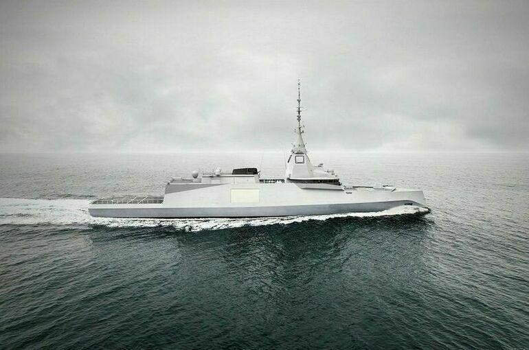 Франция поставит Греции три фрегата